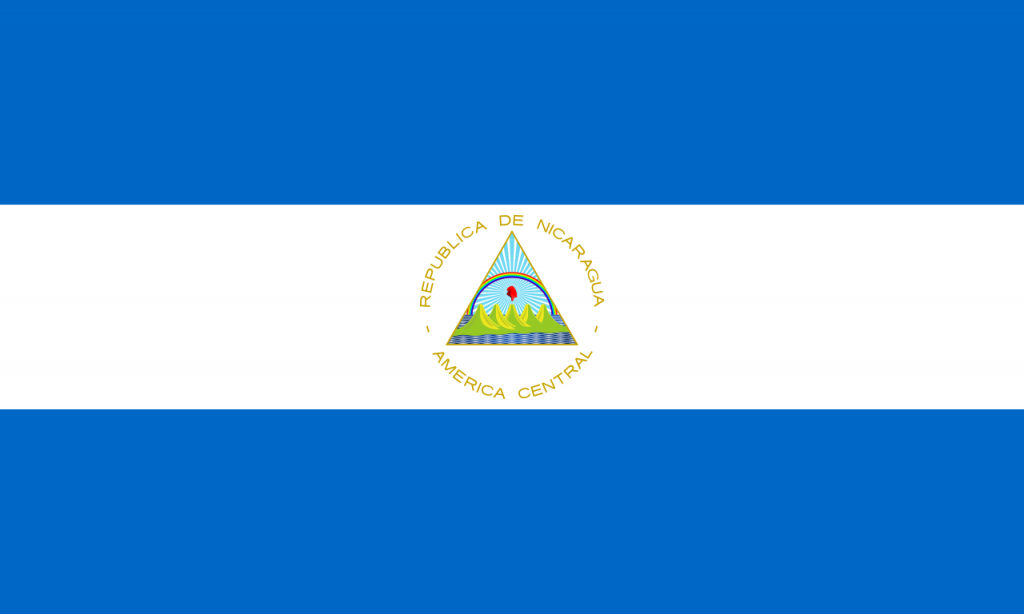 ニカラグア国旗